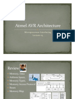 AVR Architecture [Lect-03 Fall09]