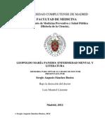 Leopoldo Maria Panero Tesis Complutense