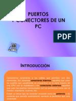Puertos y Conectores Del Pc