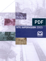 @Code of Site Supervision, 2005