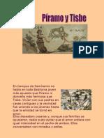 Mito Piramo y Tisbe