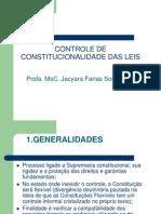 1. Controle de Constitucionalidade