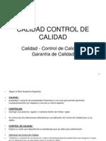 Calidad Control de Calidad.2010 Pwp