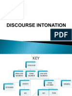 Discourse Intonation Phonetics Brazil Key Choice Part III