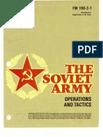 FM 100-2-1 The Soviet Army