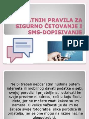 Dopisivanje za online Lični kontakti