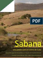 Sabana, Una Palabra Para El Centro de Cuba