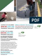 District of Columbia Ban Notification Postcard