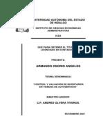 Tesis Control y Valuacion de Inventarios