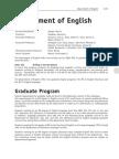 AUB English Masters Program