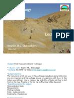 FG Lecture 3 Field Measurements and Techniques
