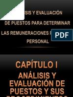 Analisis y Evaluacion de Puestos Para Remuneraciones Del Personal