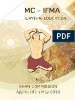 Khan Muaythai Education Syllabus v.2013 (With English Translation)