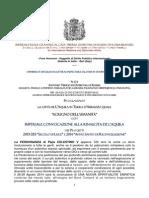 """L'Aquila """"SCRIGNO DELL'UMANITÀ"""" Imperiale Convocazione"""
