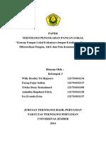 Paper Pengertian Pangan Lokal Dan Ketahanan Pangan K.3