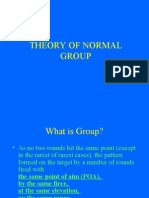 Theory of Normal Group 3