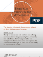 Faith and Healing in the Atonement