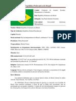 República Federativa do Brasil position paper
