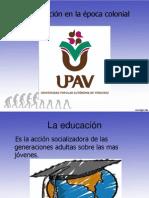 Educacion en La Epoca Colonial.