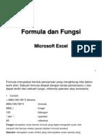 Formula Dan Fungsi Excel