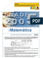 MAT-enade-2005