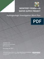 MPWSP Hydrogeologic Investigation Work Plan Attachment 1