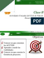ClaseII2014-Analisis de Sistemas - Ciclo de Vida