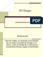 CHEQUE.ppt
