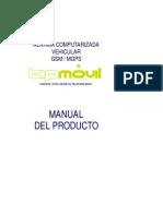 Manual Vehicular GSM MGPS