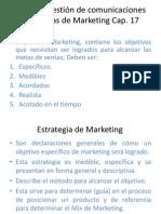 Cap 17 Diseño y gestión de comunicaciones integradas de Marketing
