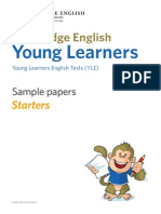 153309 Starters Sample Papers Volume 2