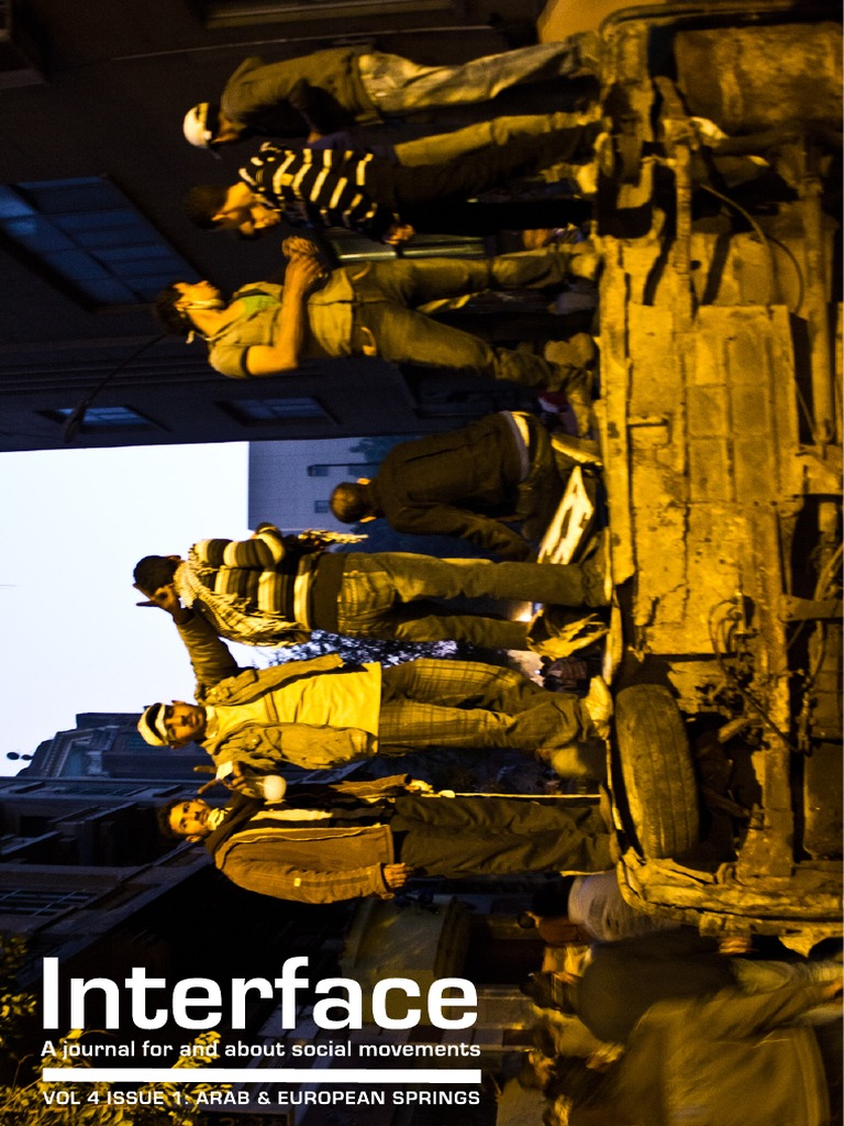 Interface Volume 4 Issue 1 the Season of Revolution- The Arab Spring ...