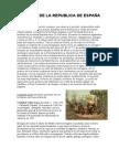 HISTORIA DE LA REPUBLICA DE ESPAÑA
