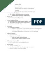 Coenzyme List
