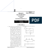 B.mat Full Syllabus Test VII Main Solns