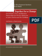 Working Together for a Change- Government, Business, And Civic Partnerships for Poverty Reduction in Latin America and the Caribbean