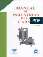 M. D. Raken - Manual de Industrias de La Carne