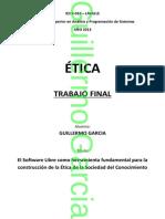 ÉTICA - Software Libre - FINAL
