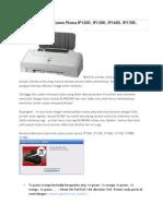 Kode Blink Printer Canon Pixma IP1200