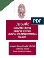 Usucapião Aula-Semana 4 - USP