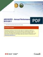 2010 2011 GRDI Annual Report