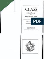 fussell social class