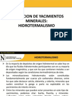 8.0 HIDROTERMALISMO