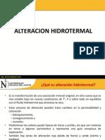 9.0 ALTERACION HIDROTERMAL