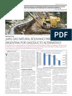 ¿Más gas natural boliviano para la Argentina por gasoducto alternativo?