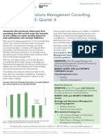 Kennedy Strat Ops Consulting Index 2013 Q4 Summary