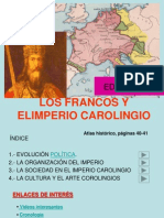 Los Francos y El Imperio Carolingio