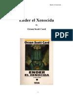 76003215 Ender El Xenocida Card Orson Scott