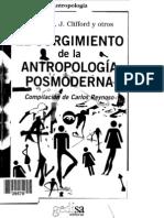 40115979 El Surgimiento de La Antropologia Posmoderna Geertz