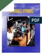 Pio 123 Slide Performance Appraisal